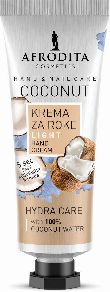 Krema za roke Afrodita coconut, 30ml