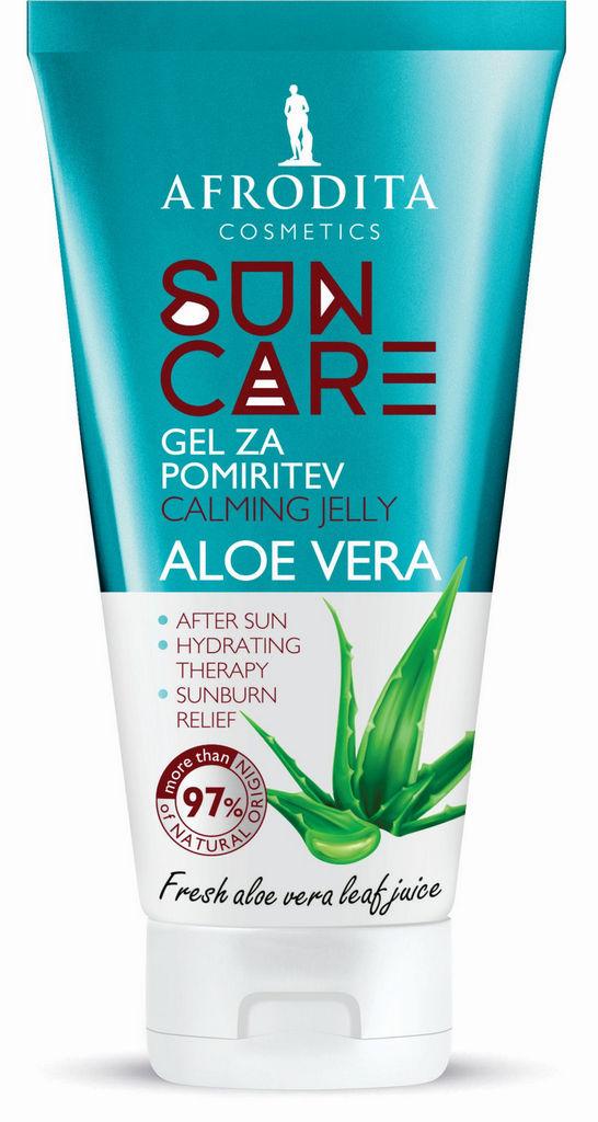 Gel za pomiritev kože Afrodita, Sun Care Aloe Vera, 150 ml