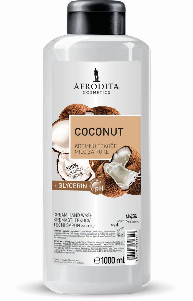 Milo tekoče Afrodita, Coconut, 1 l