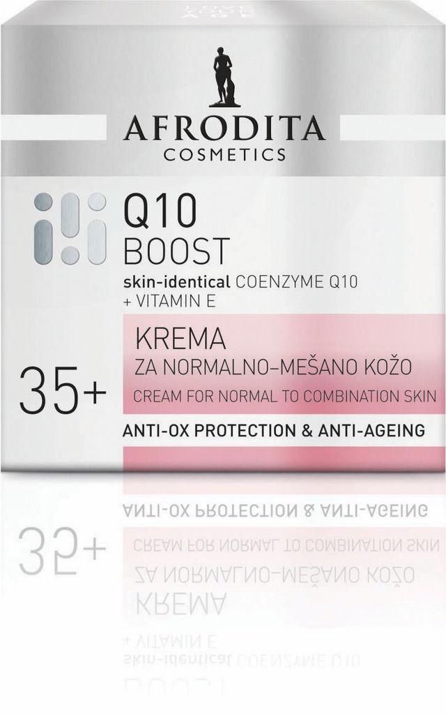 Krema Afrodita, Q10 za normalno do mešano kožo, 50ml