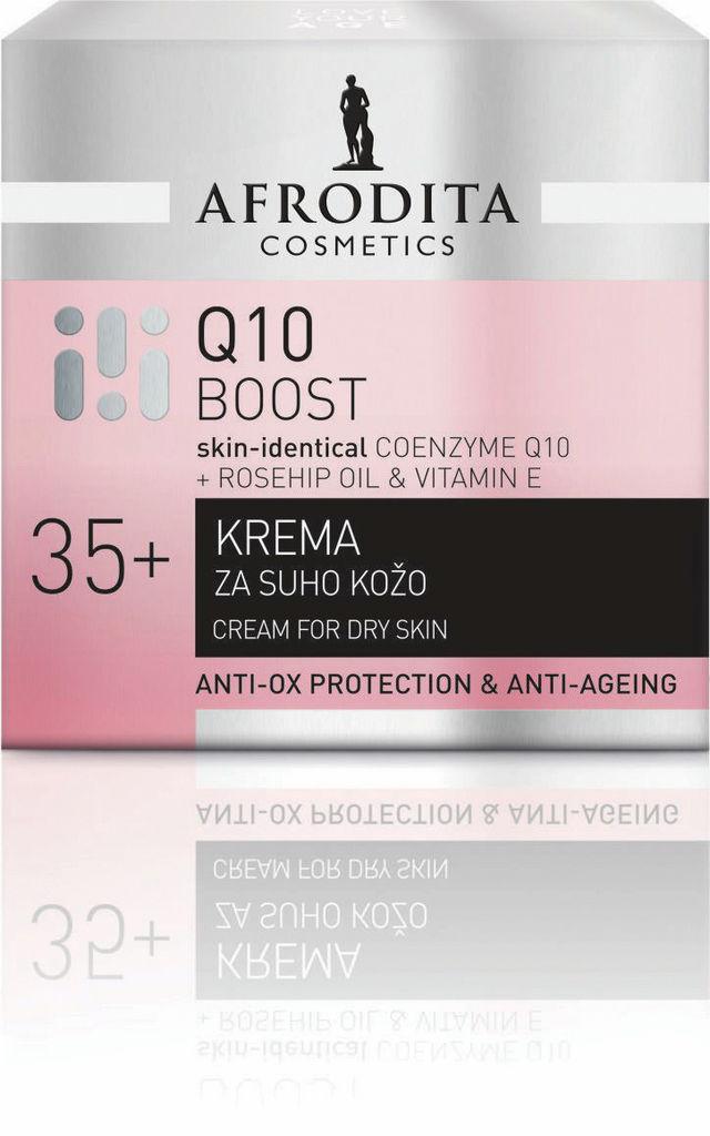 Krema Afrodita, Q10 za suho kožo, 50ml