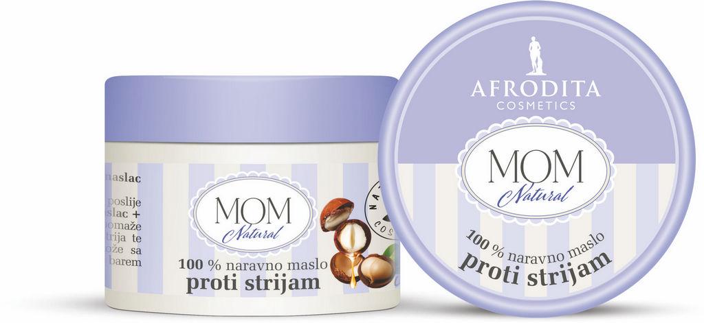 Maslo Mom Natural, proti strijam, 200ml