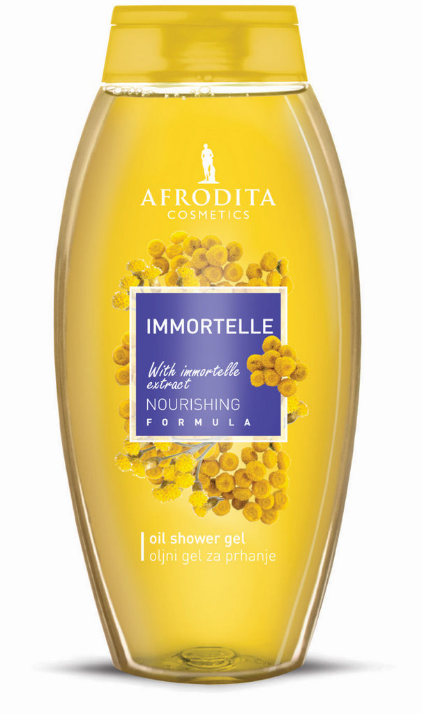 Gel za prhanje Afrodita, Immortelle, 250 ml