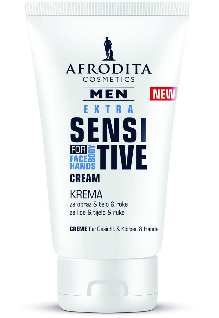 Krema Afrodita Men univerzalna sensitive, 125 ml