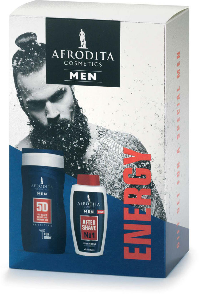 Darilni paket Afrodita, Men energy