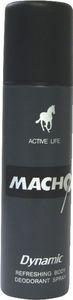 Dezodorant sprej Macho Dynamic moški, 150ml
