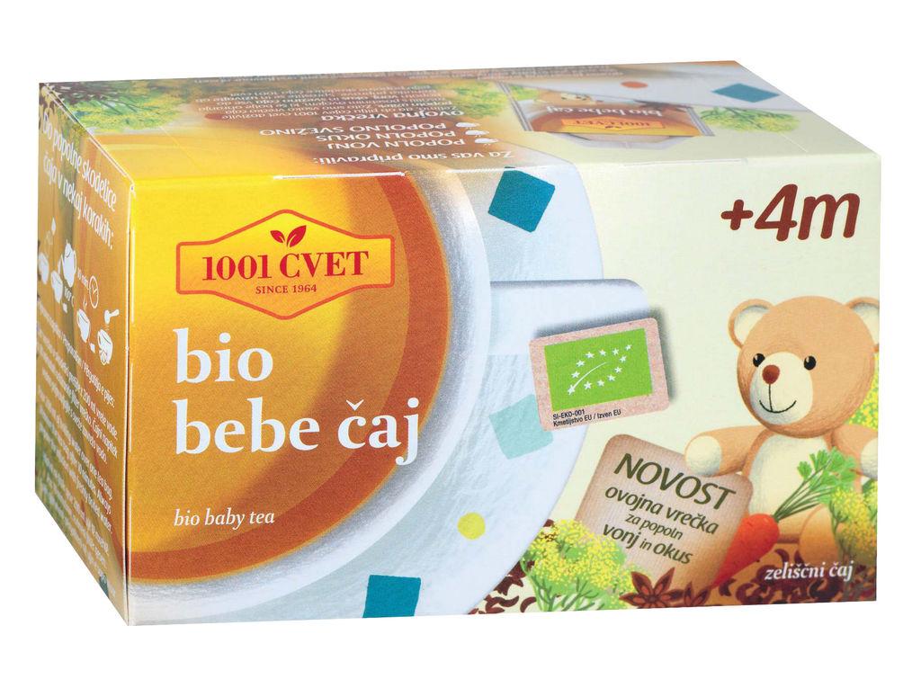 Čaj 1001, bebi bio, 40g