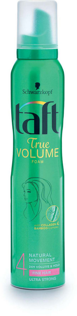 Pena za lase Taft, volume mousse, 4, 200ml