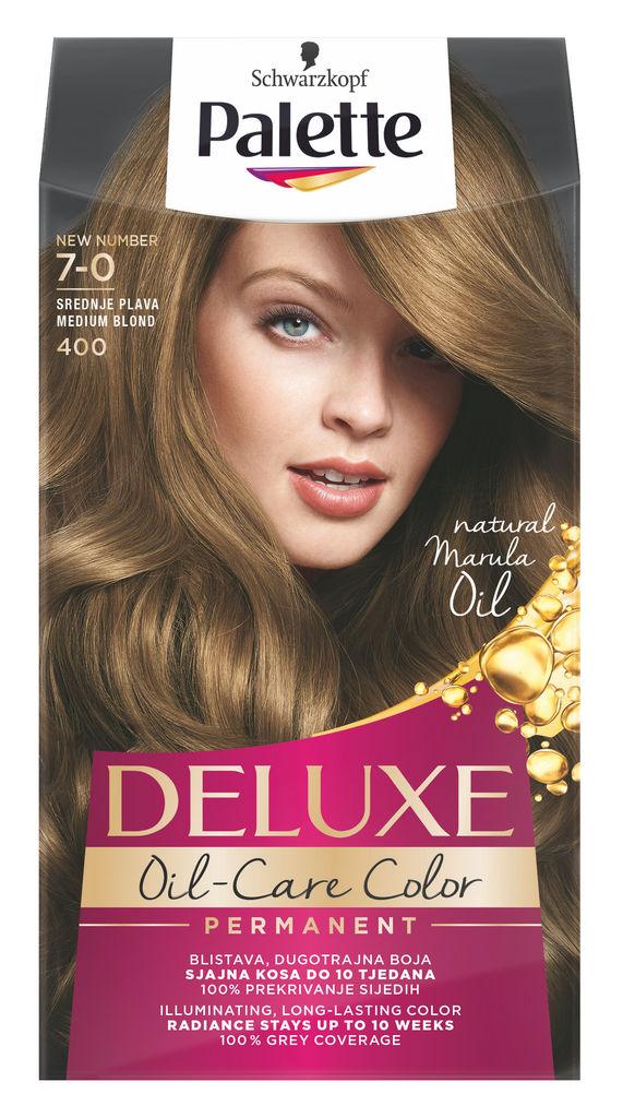 Barva za lase Palette Deluxe, 400, sr.plava