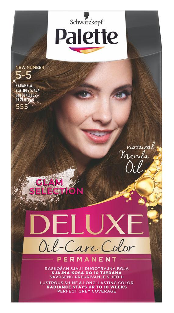 Barva za lase Palette Deluxe, 555, zl.karam.