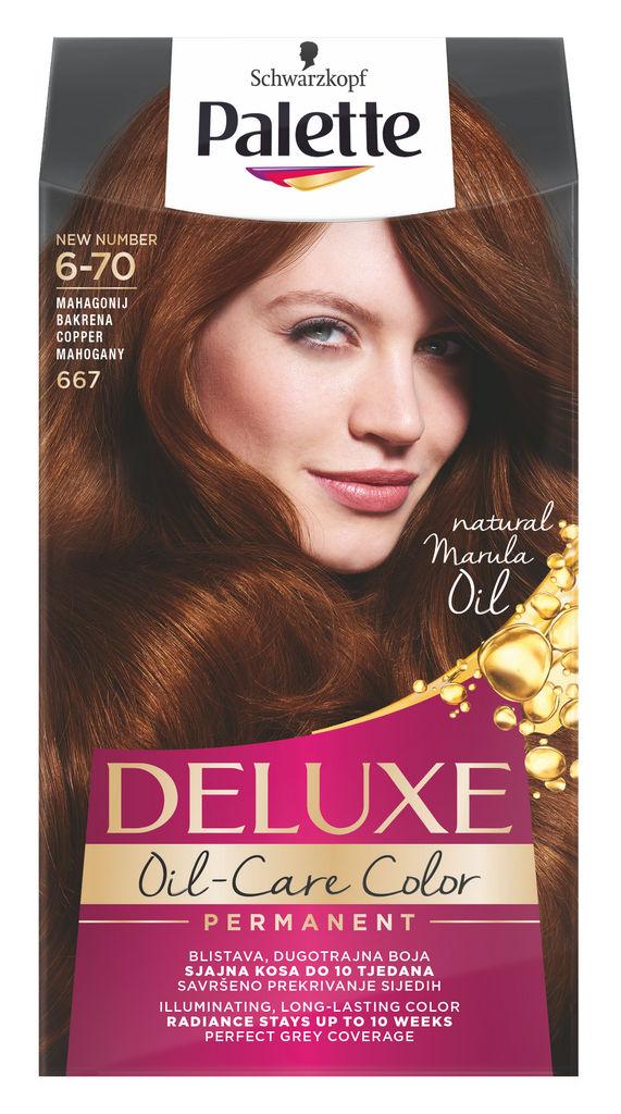 Barva za lase Palette Deluxe, 667, bak.mah.