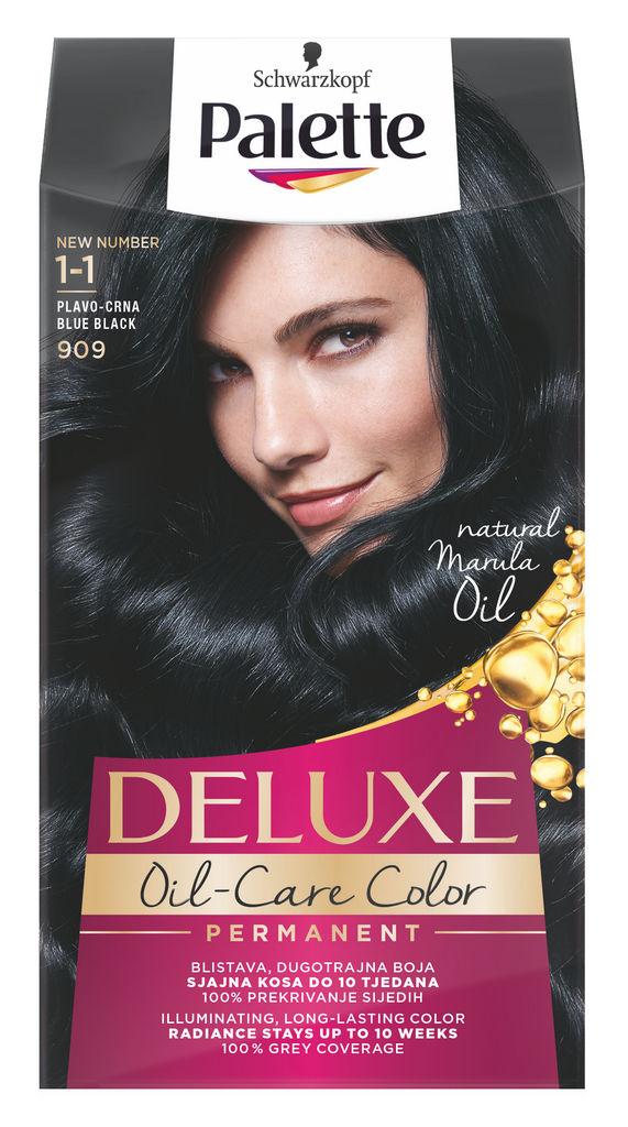 Barva za lase Palette Deluxe, 909, mo.črna
