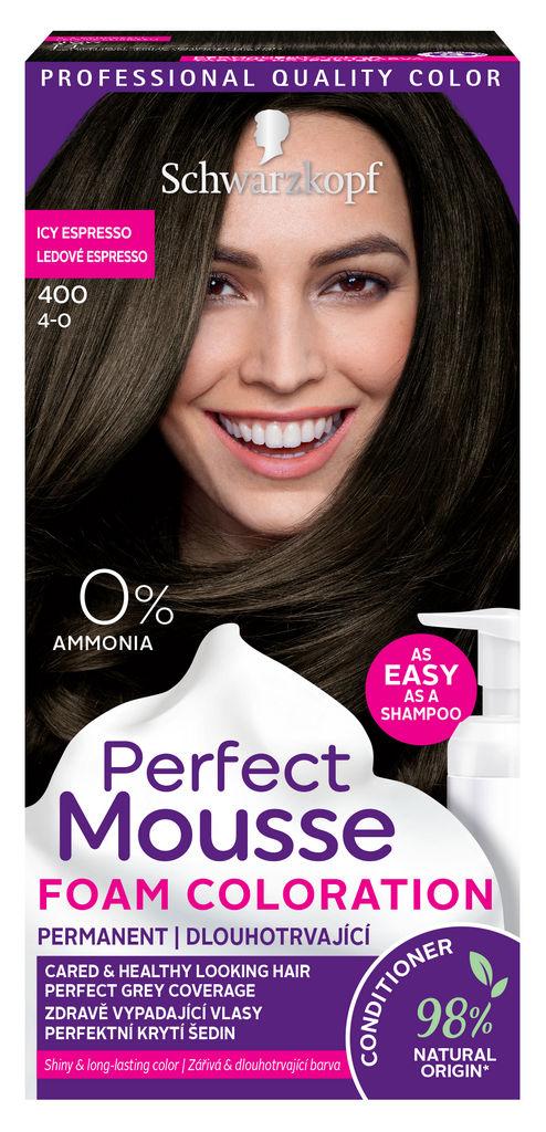 Barva za lase Perfect musse, 400, t.rjava