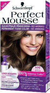 Barva za lase Perfect musse 600, svetlo rjava