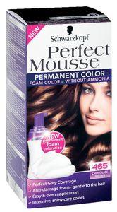 Barva za lase Schwarzkopf Perfect mousse 465 čok.rjava