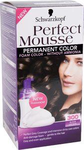 Barva za lase Schwarzkopf Perfect mousse 300 črno rjava