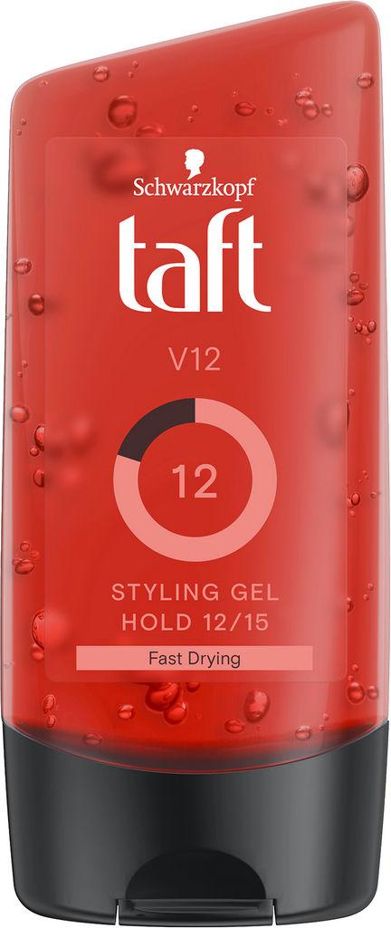 Gel za lase Taft Looks, V12 power, 150ml