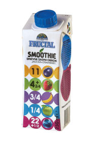 Pijača Smoothe Fructal, jagoda, 250 ml