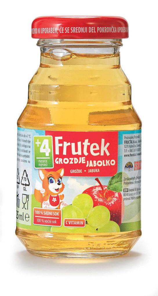 Sok Frutek, grozdje, 125 ml