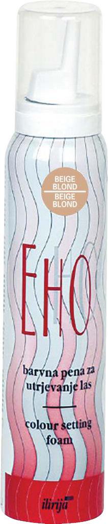 Pena za lase Ehostyle, b.blond, 125ml