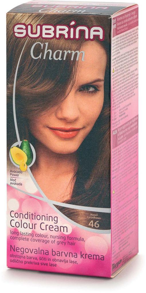Barva za lase Subrina, Charm 46, lešnik