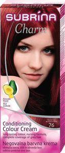 Barva za lase Subrina, Charm, gran.rdeča,76