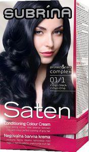 Barva za lase Subrina, Saten 01/1, intense