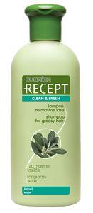 Šampon Recept, za mastne lase, 400ml