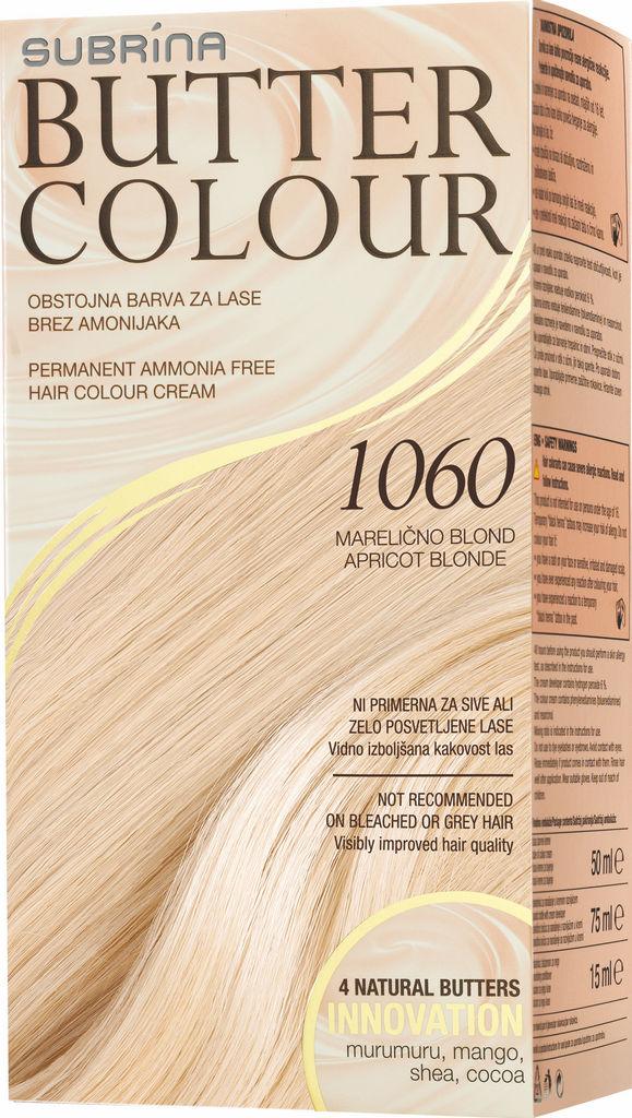 Barva za lase Subrina Butter colour 1060