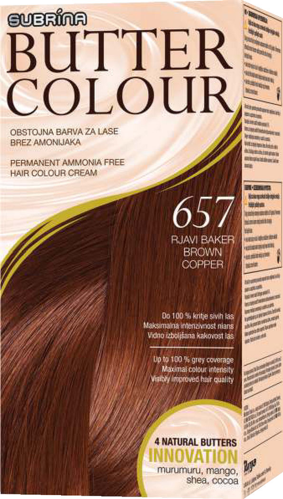 Barva Subrina, Butter colour, 657