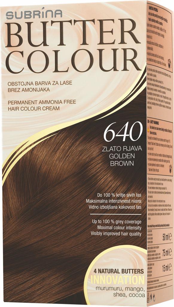 Barva za lase Subrina Butter colour 640