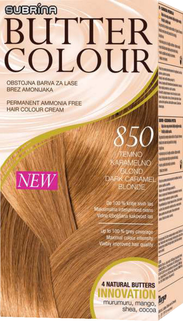 Barva za lase Subrina Butter colour 850