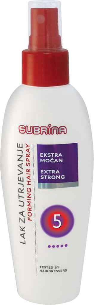 Lak za utrjevanje las Subrina, Extra močan, 150 ml