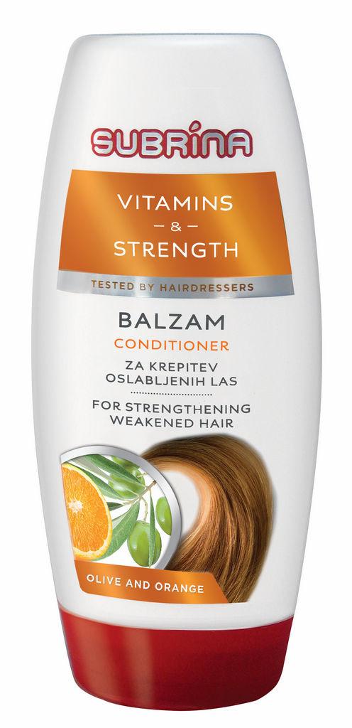 Balzam Subrina, Vitamines & strenght, 250ml