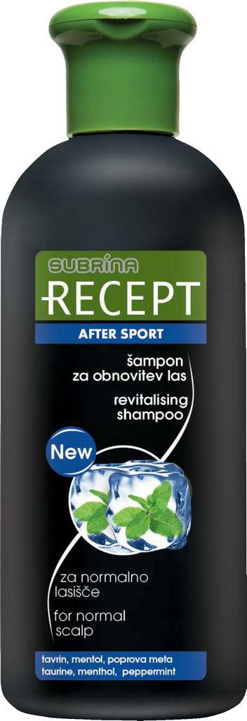Šampon Subrina Recept, obnovitev After Sport, 400ml