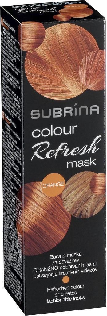 Barva za lase Subrina Colour refresh oranžna