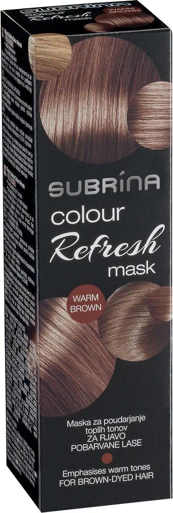 Barva za lase Subrina Colour refresh toplo rjava