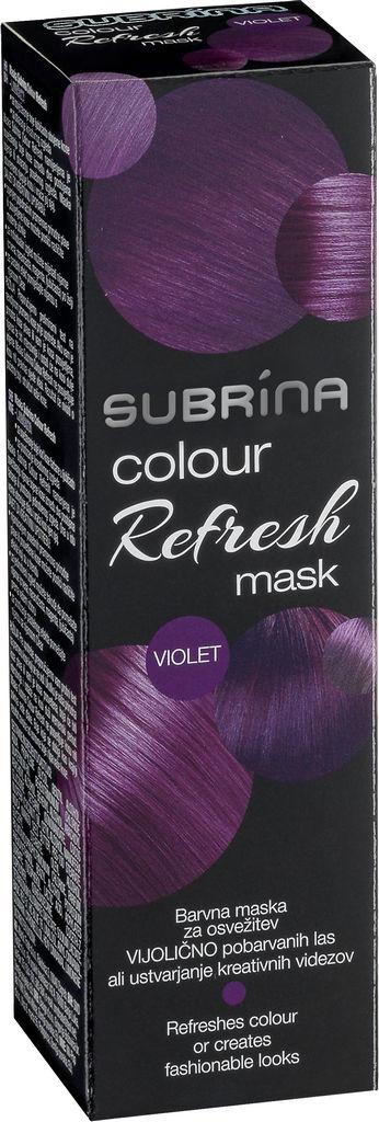 Barva za lase Subrina Colour refresh vijolična