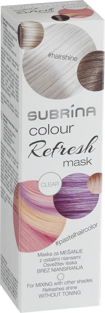 Barva za lase Subrina Colour refresh clear