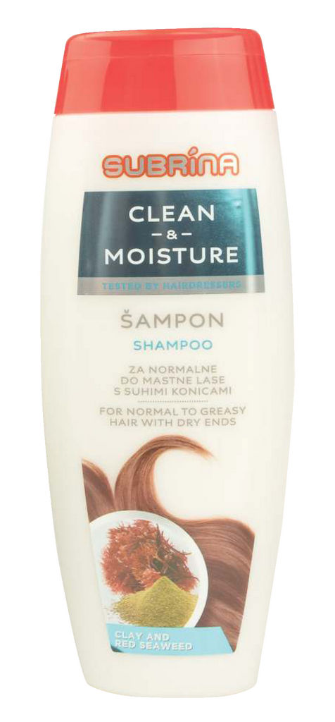 Šampon Subrina, Clean&Moisture, 300ml