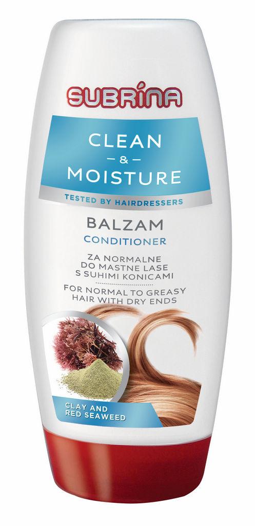 Balzam Subrina, Clean&Moisture, 250ml