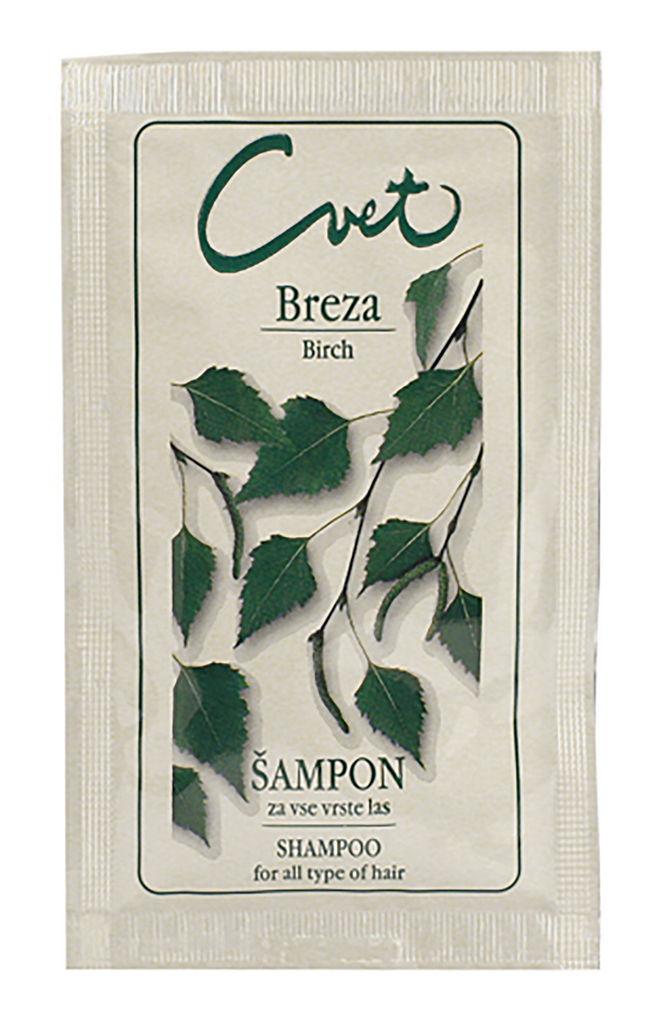 Šampon Cvet, mini, breza, 15 ml