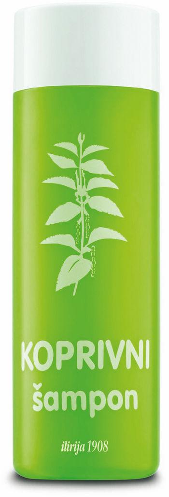 Šampon Ilirija, Kopriva, 230 ml