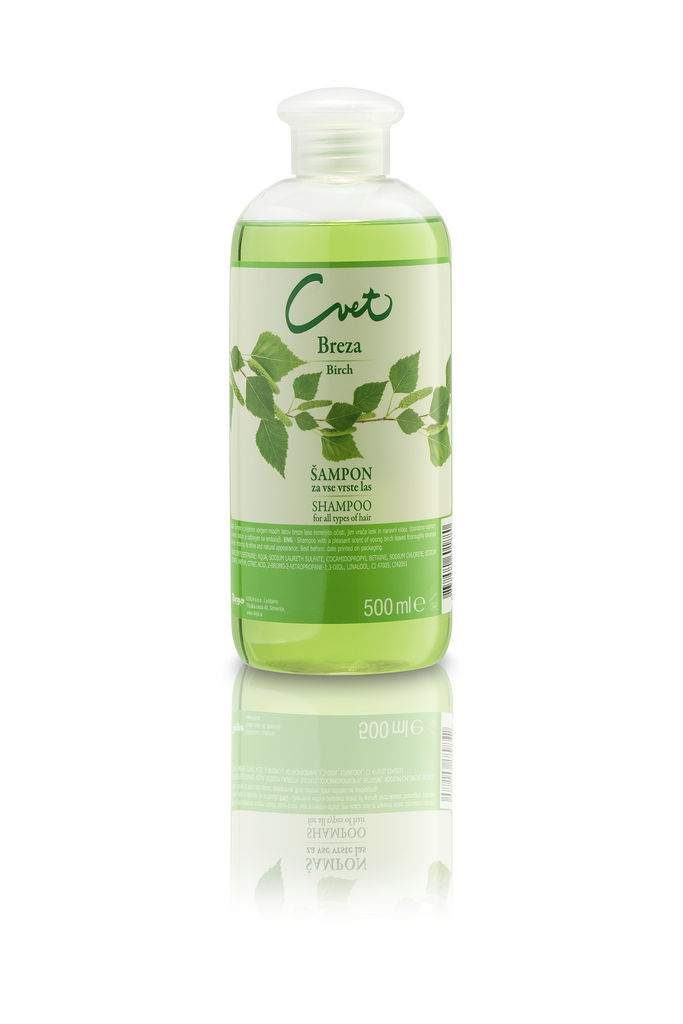 Šampon Cvet, Breza, 500 ml