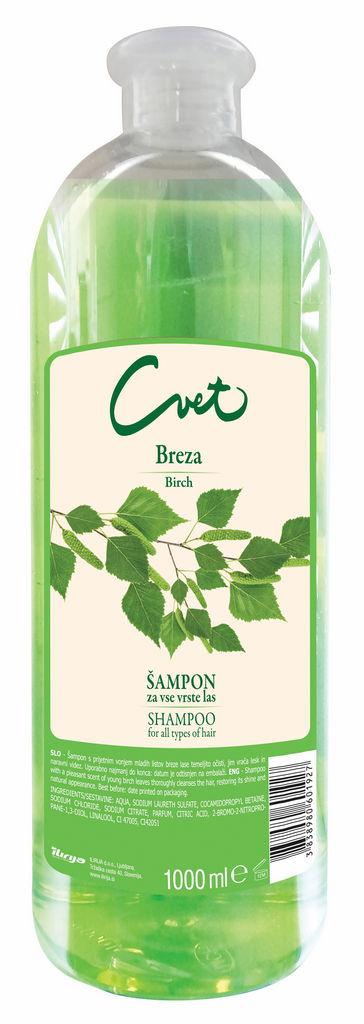 Šampon Cvet, breza, 1 l