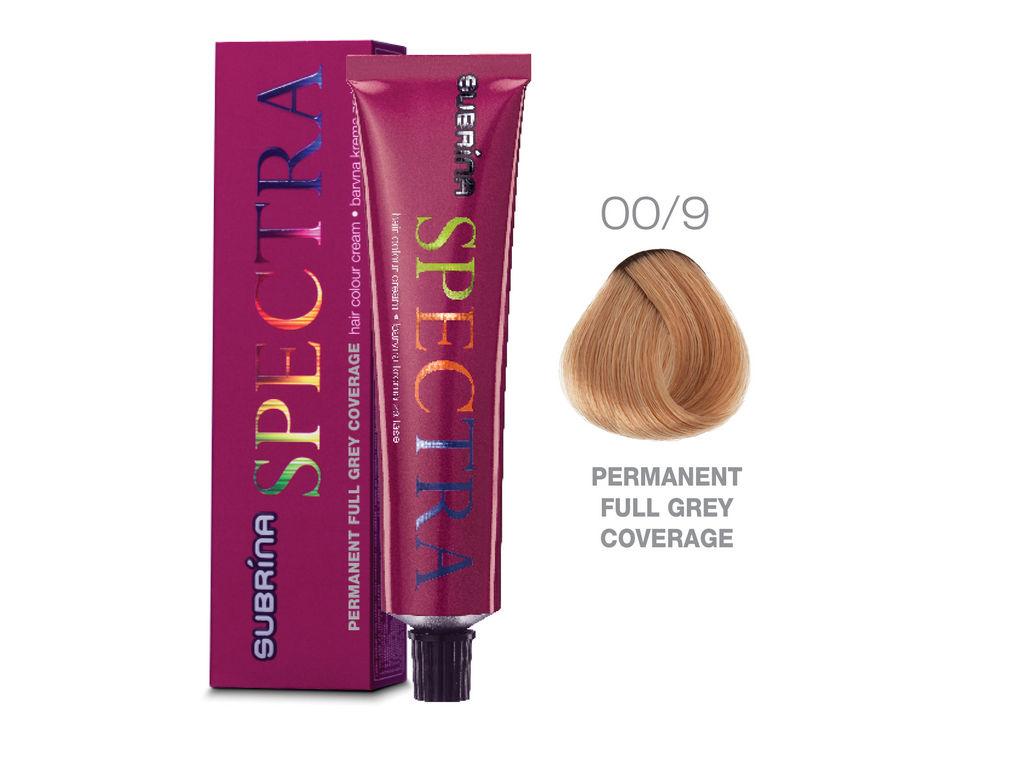 Barva za lase Subrina Spectra perment, 00/9 naravno zelo svetlo blond