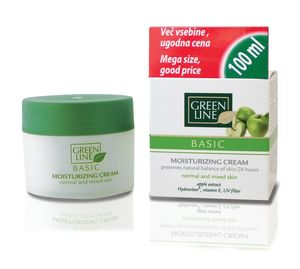 Krema Green Line, Basic vlažilna, 100 ml