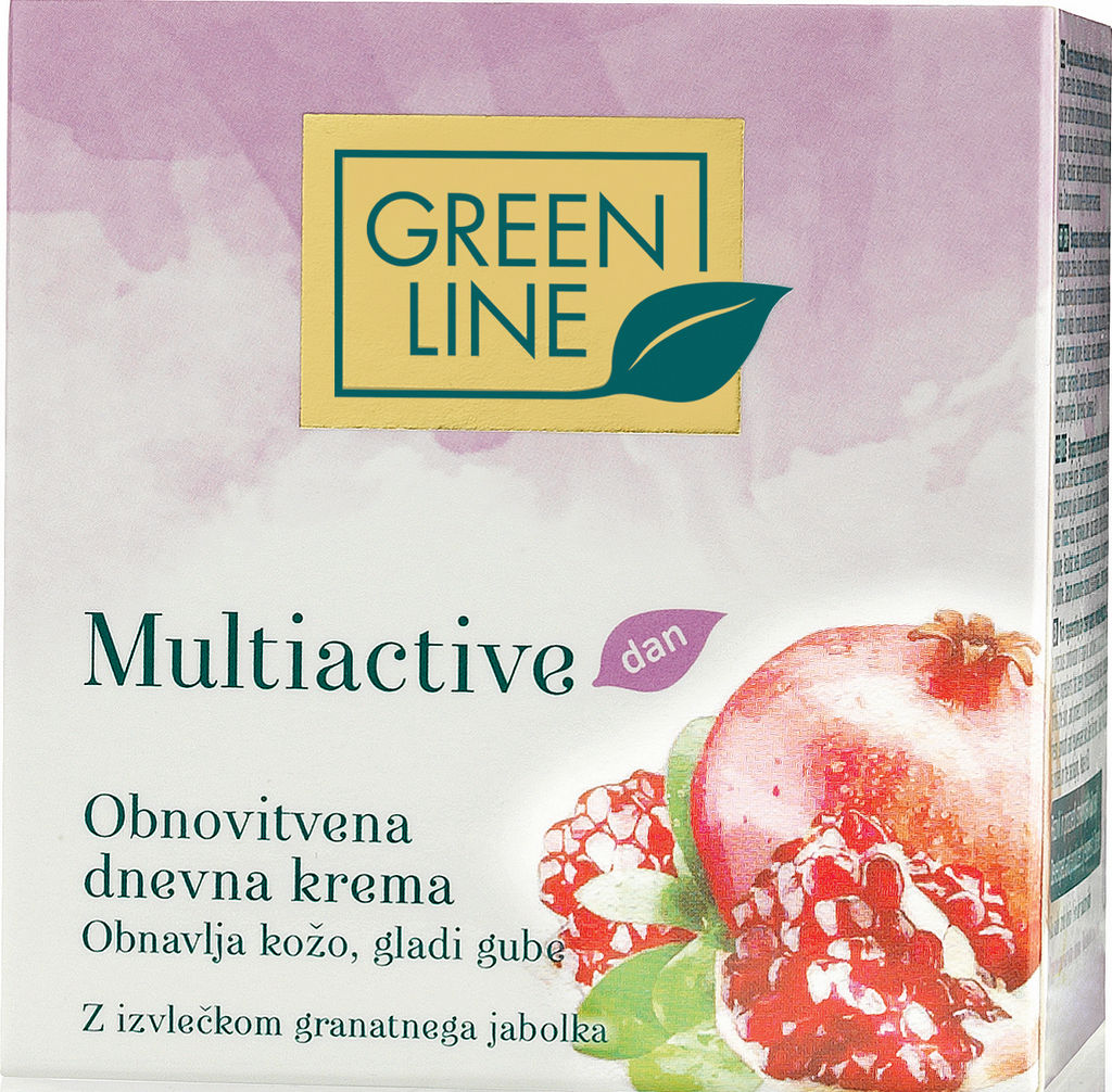 Krema Green Line, Multiactive dnevna, obnovitvena, 50 ml