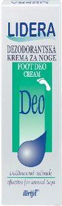 Krema Lidera, dezodorantska krema za noge, 50 ml