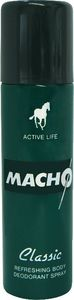 Dezodorant sprej Macho Classic moški, 150ml